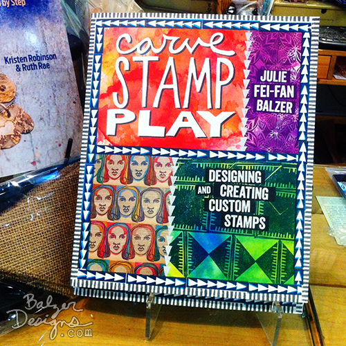 from the Balzer Designs Blog: #CarveDecember 2015 is Coming #StampCarving
