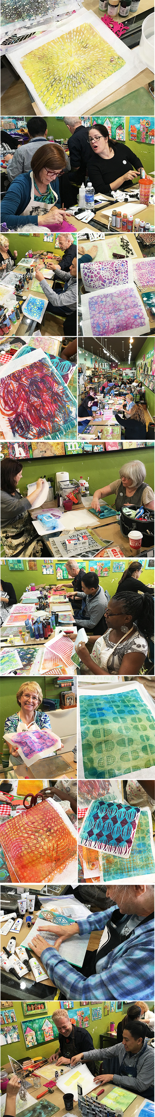 from the Balzer Designs Blog: Three Classes at A Work of Heart in San Jose