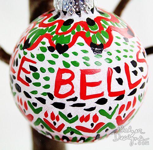 Balzer Designs Experiments In Painted Christmas Balls