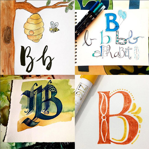 from the Balzer Designs Blog: Art Journal Every Day: Challenge Yourself in 2016 #artjournal