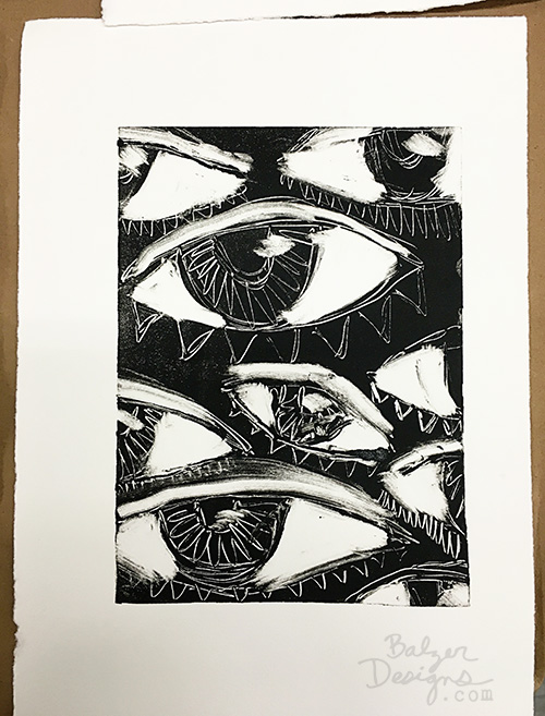 from the Balzer Designs Blog: #Printmaking Class at the Boston Museum of Fine Arts