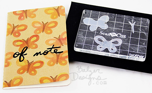 from the Balzer Designs Blog: #ScanNCut Stamp Starter Kit GIVEAWAY