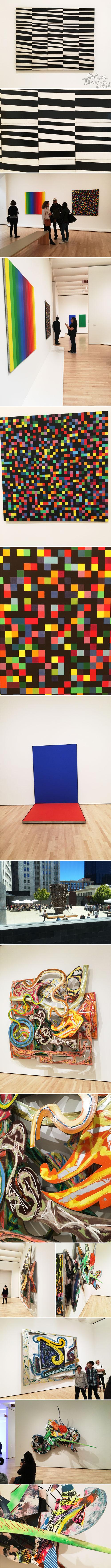 from the Balzer Designs Blog: San Francisco Museum of Modern Art #sfmoma