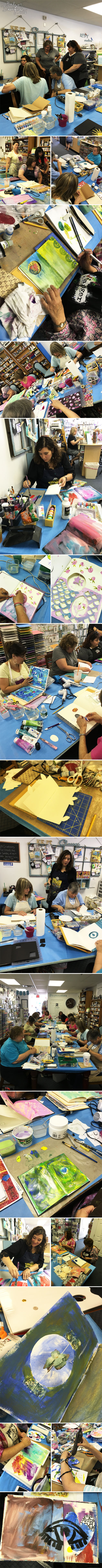 From the Balzer Designs Blog: Three Classes At Kept Creations