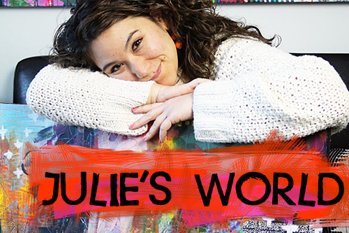 from the Balzer Designs Blog: Julie's World Weekly Vlogging Series
