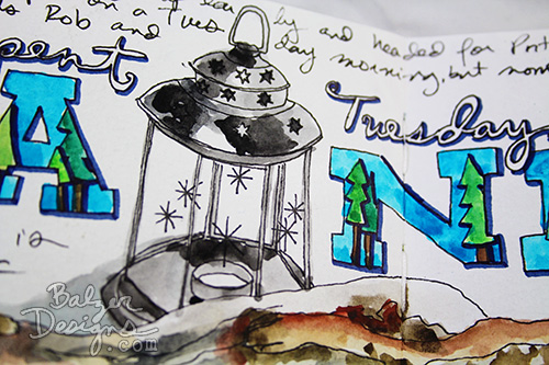 from the Balzer Designs Blog: Art Journal Every Day #artjournal #artjournaleverydaym