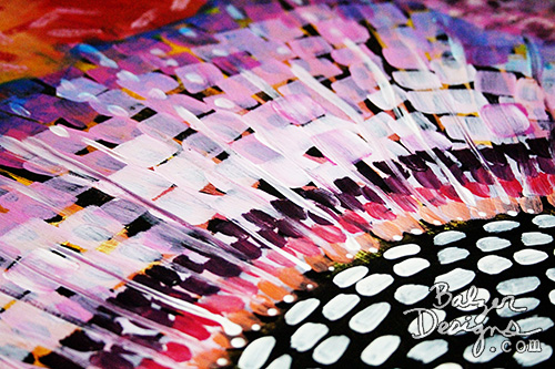 from the Balzer Designs Blog: Painted Table: The Finished Table (part two)