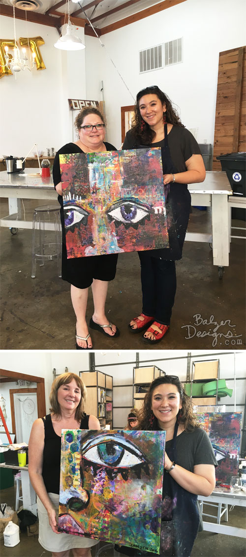 From The Balzer Designs Blog: 2016 Austin Classes: Part Two
