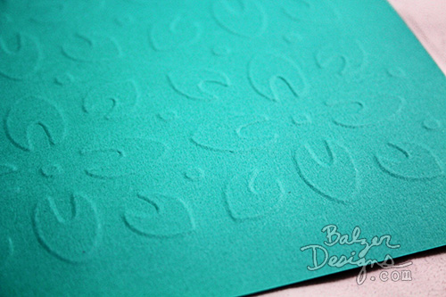 from the Balzer Designs Blog: #ScanNCut Techniques: Line Embossing & Region Embossing