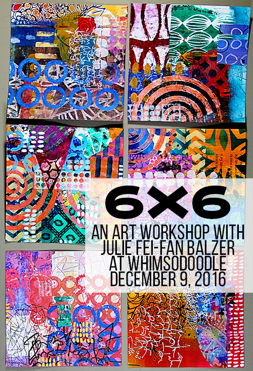 from the Balzer Designs Blog: Join me for Four Classes at WhimSoDoodle in Florida