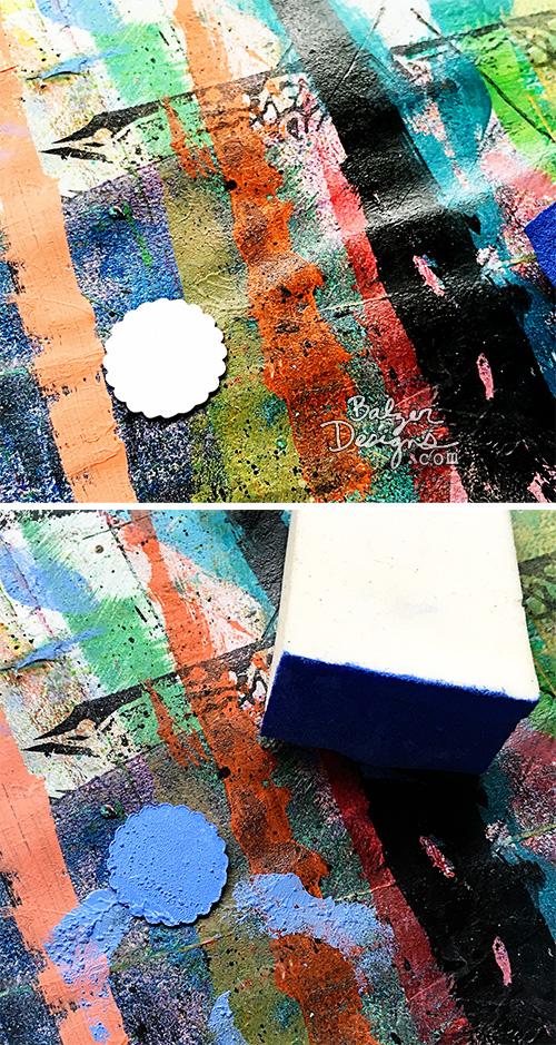 Balzer Designs Stenciled Gift Box