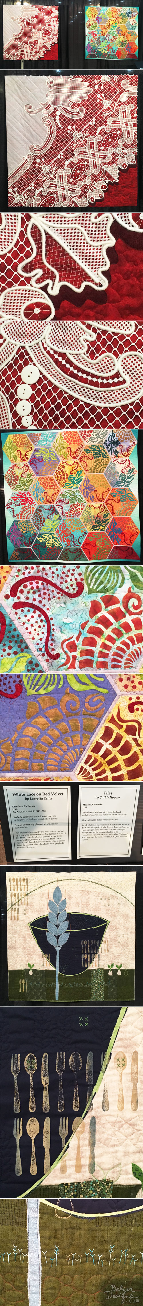 From the Balzer Designs Blog: Quilt Festival 2016: Part One #quilting