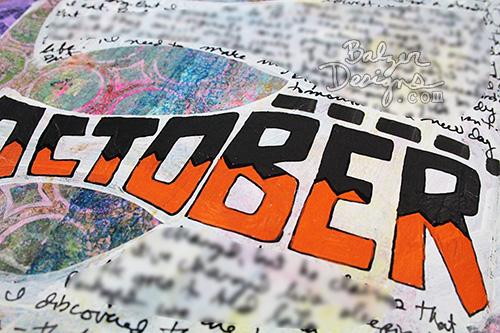 from the Balzer Designs Blog: Art Journal Every Day #artjournal #artjournaleveryday