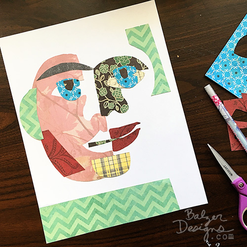 from the Balzer Designs Blog: All Faces for sale at www.juliebalzer.com/shop.html