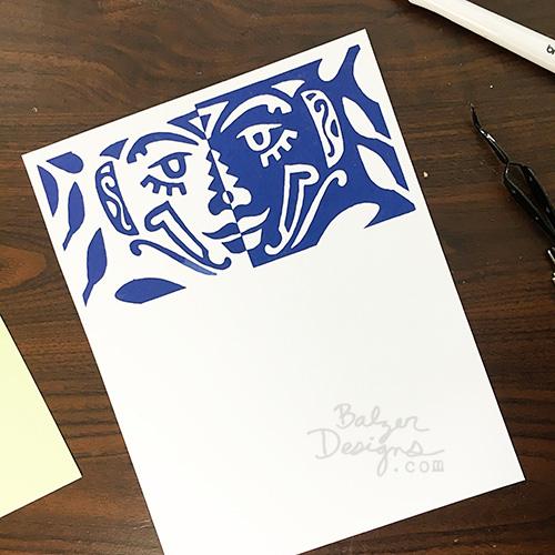 from the Balzer Designs Blog: #100daysof15minutebalzerfaces