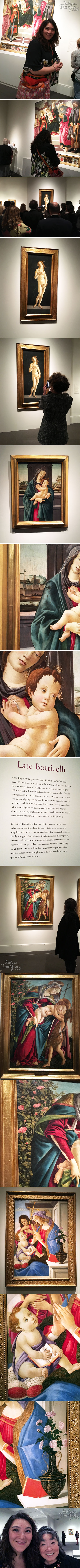 From the Balzer Designs Blog: Botticelli in Boston