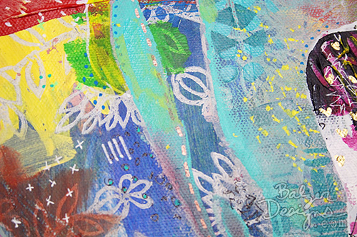 from the Balzer Designs Blog: Artful Adventures in Mixed Media