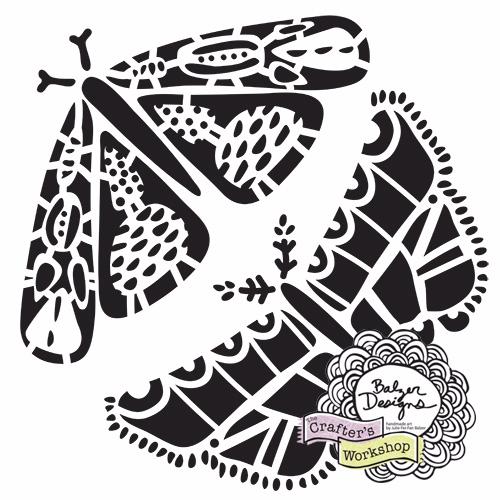 From the Balzer Designs Blog: New Winter 2017 Balzer Designs Stencils