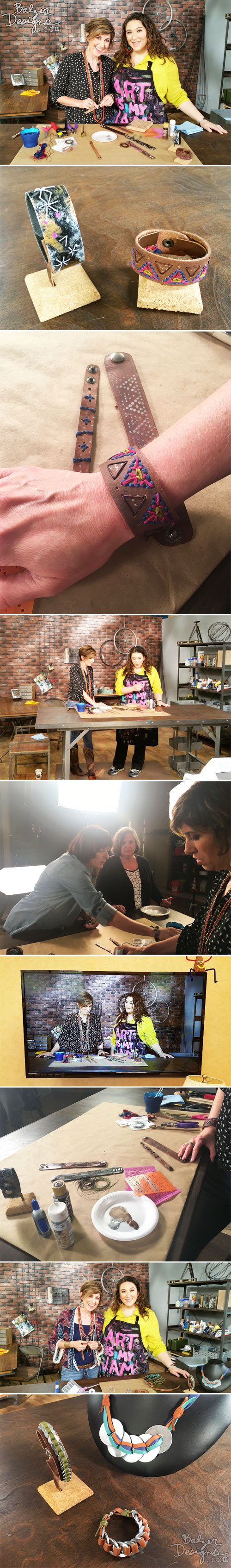 From the Balzer Designs Blog: BEHIND THE SCENES OF MAKE IT ARTSY: SEASON THREE (Part 1)