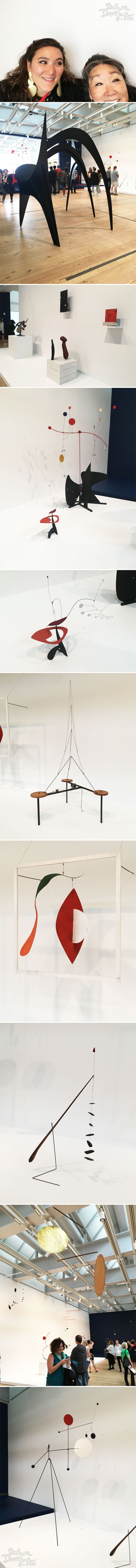 From the Balzer Designs Blog: Calder at the Whitney