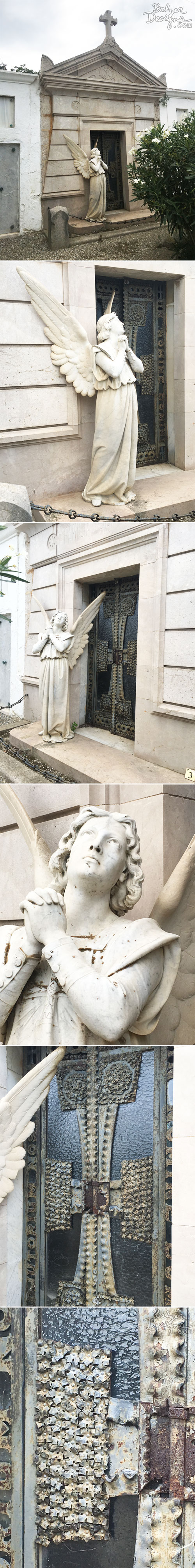 From the Balzer Designs Blog: Cemetery in Cadeques