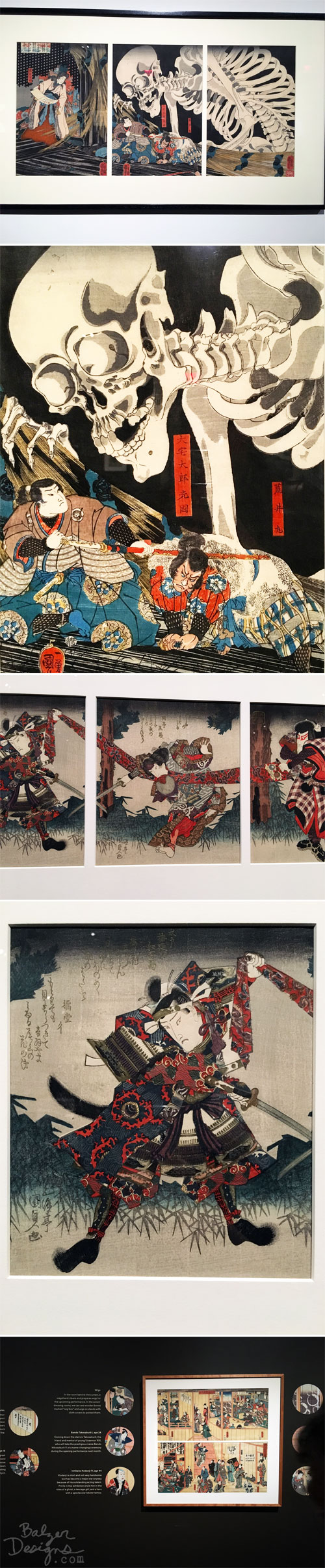 From the Balzer Designs Blog: Showdown-Kuniyoshi vs. Kunisada at the MFA