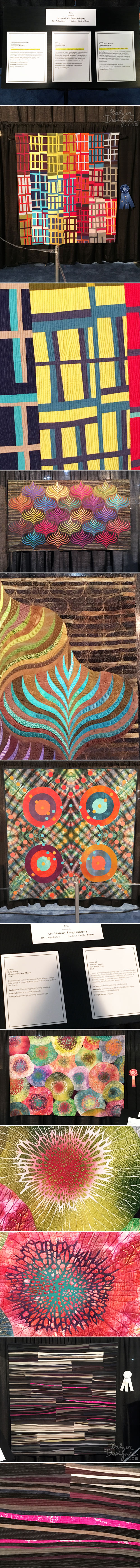 From the Balzer Designs Blog: Quilt Festival 2017: Part One