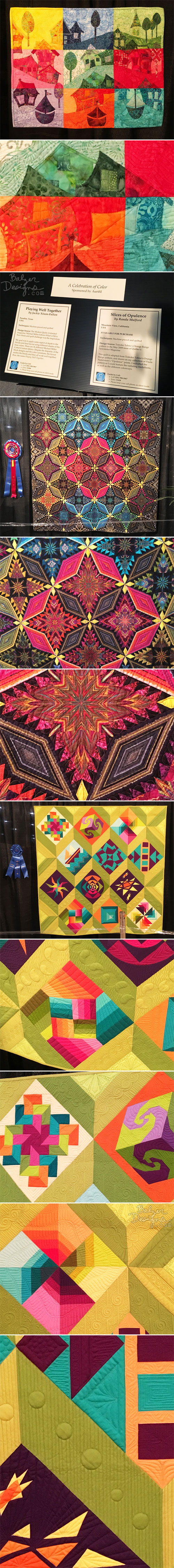 From The Balzer Designs Blog: Quilt Festival 2017: Part Two