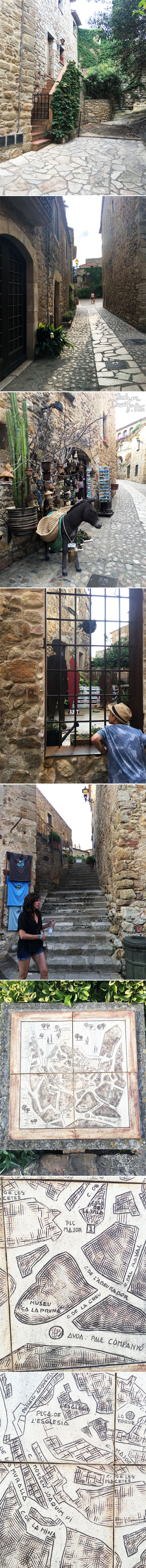 From the Balzer Designs Blog:Medieval Village: Peratallada
