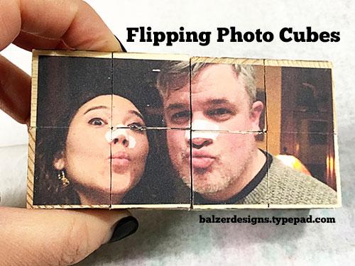 Balzer Designs Valentine S Day Flipping Photo Cubes