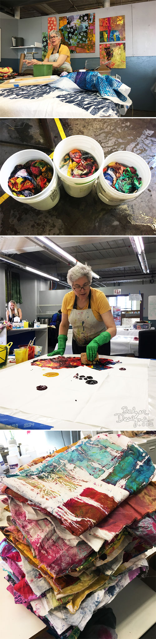 From the Balzer Designs Blog: Glorious Prints with Pat Pauly (the class): Part One