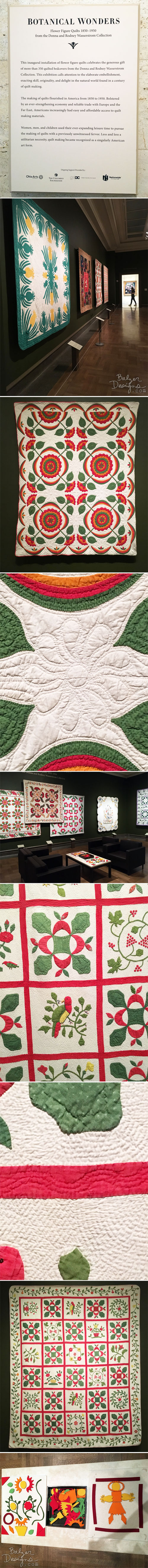 From the Balzer Designs Blog: Columbus Museum of Art: Part One