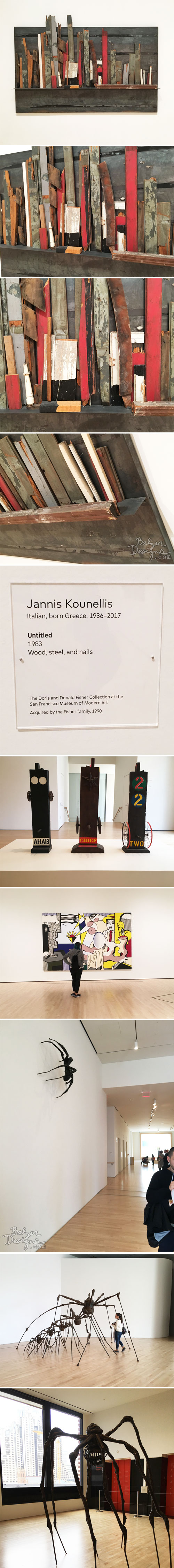 From the Balzer Designs Blog: An Hour at SFMoMA