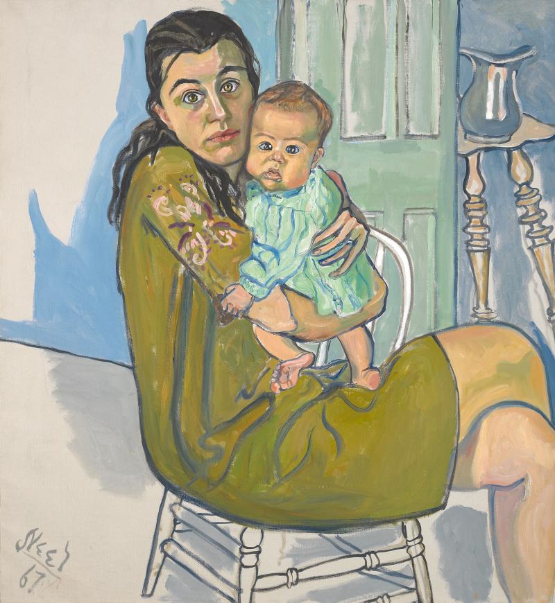 Alice-neel-mother-child