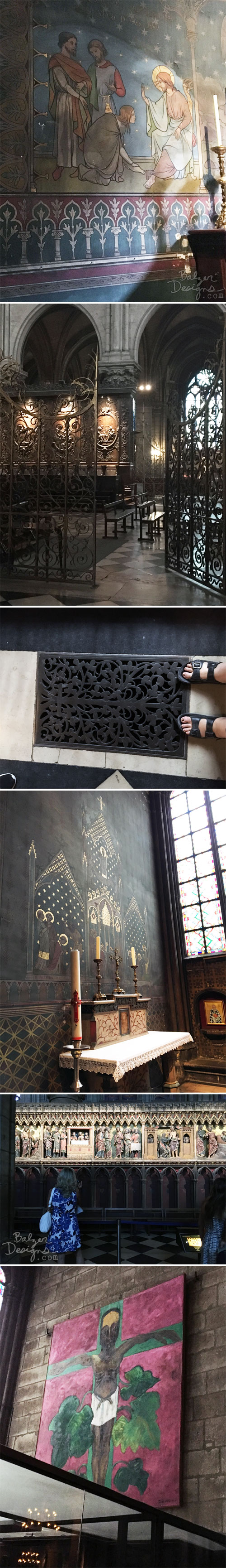 From the Balzer Designs Blog: Notre-Dame