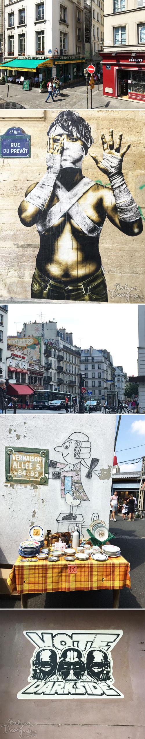 From the Balzer Designs Blog: Paris Street Art