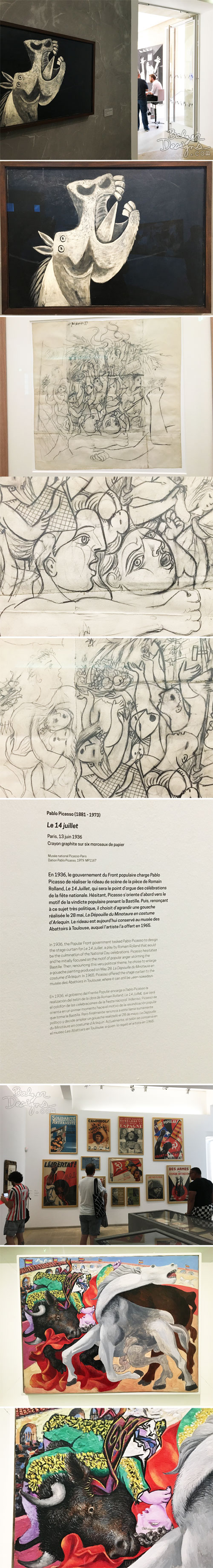 From the Balzer Designs Blog: Picasso Museum: Part One