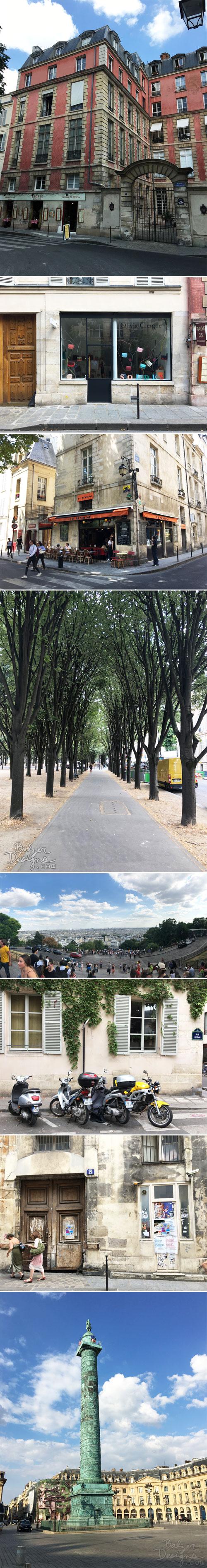 From the Balzer Designs Blog: Walking Paris