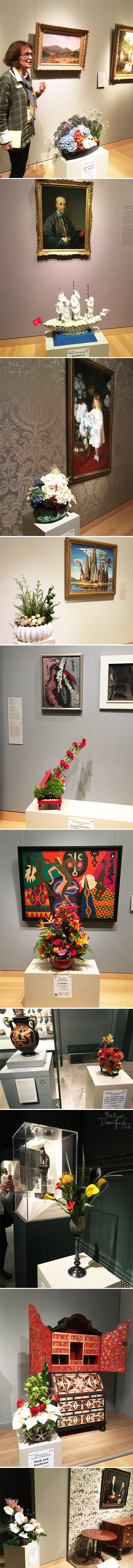 From the Balzer Designs Blog: MFA Boston Art in Bloom 2018
