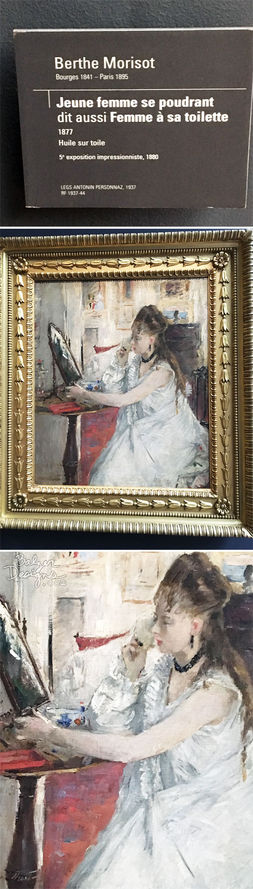 From the Balzer Designs Blog: Musee d'Orsay: Part One