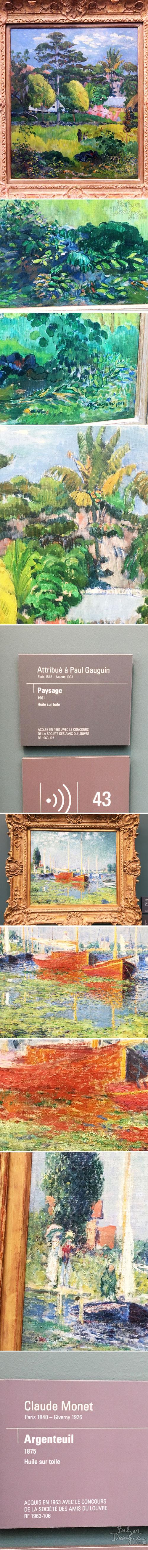 From the Balzer Designs Blog: Musee de L'Orangerie
