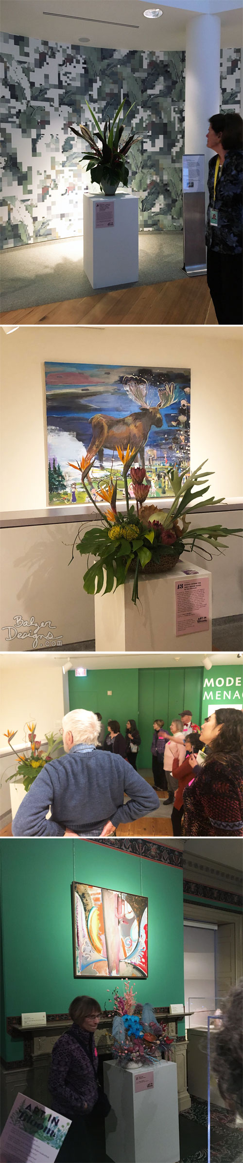 From the Balzer Designs Blog: Art in Bloom at PMA