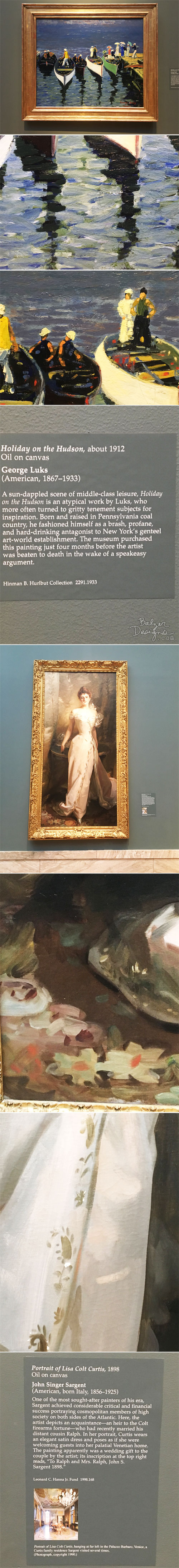 From the Balzer Designs Blog: Cleveland Museum of Art: Part Two