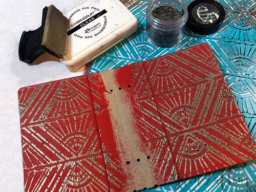 Embossed-Mini-Art-Journal---Step-8---Gwen-Lafleur