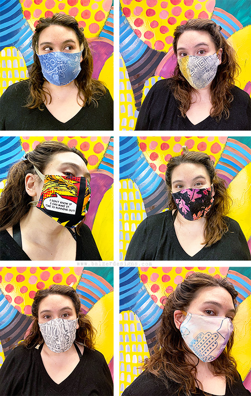 Balzer Designs Fabric Face Mask With Filter Pocket