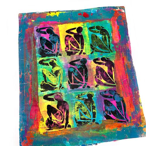 Matisse-women-stencilgel-print-carolyn-dube