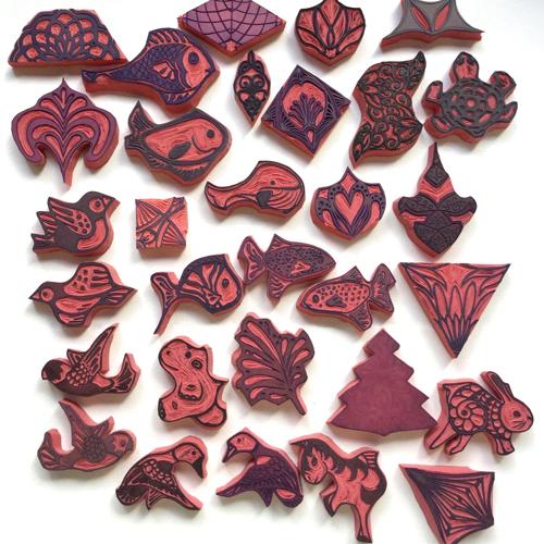 Work carved stamps carvedec 2019