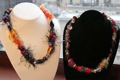Fibernecklaces