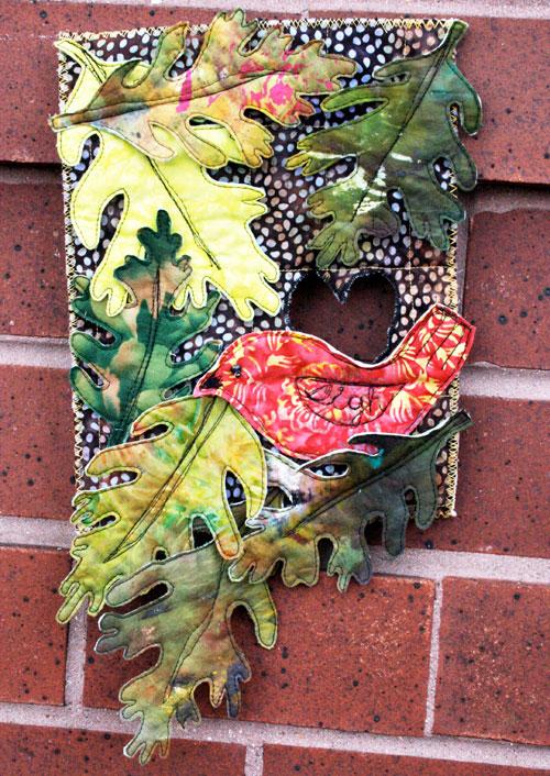 Bird Leaf Quilt